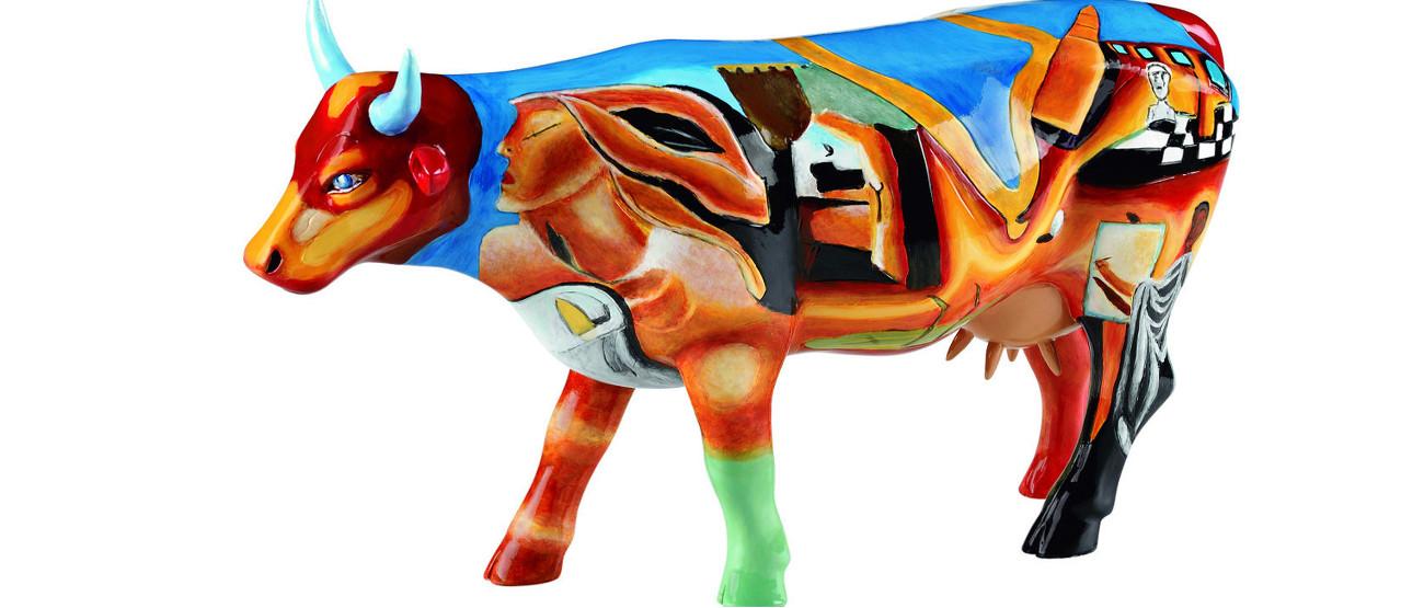 Cowlvador Dali, CowParade Kansas City 2001