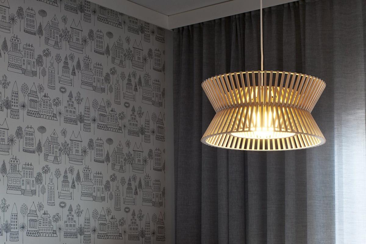 Taklampa från Secto Design, Kontro 6000
