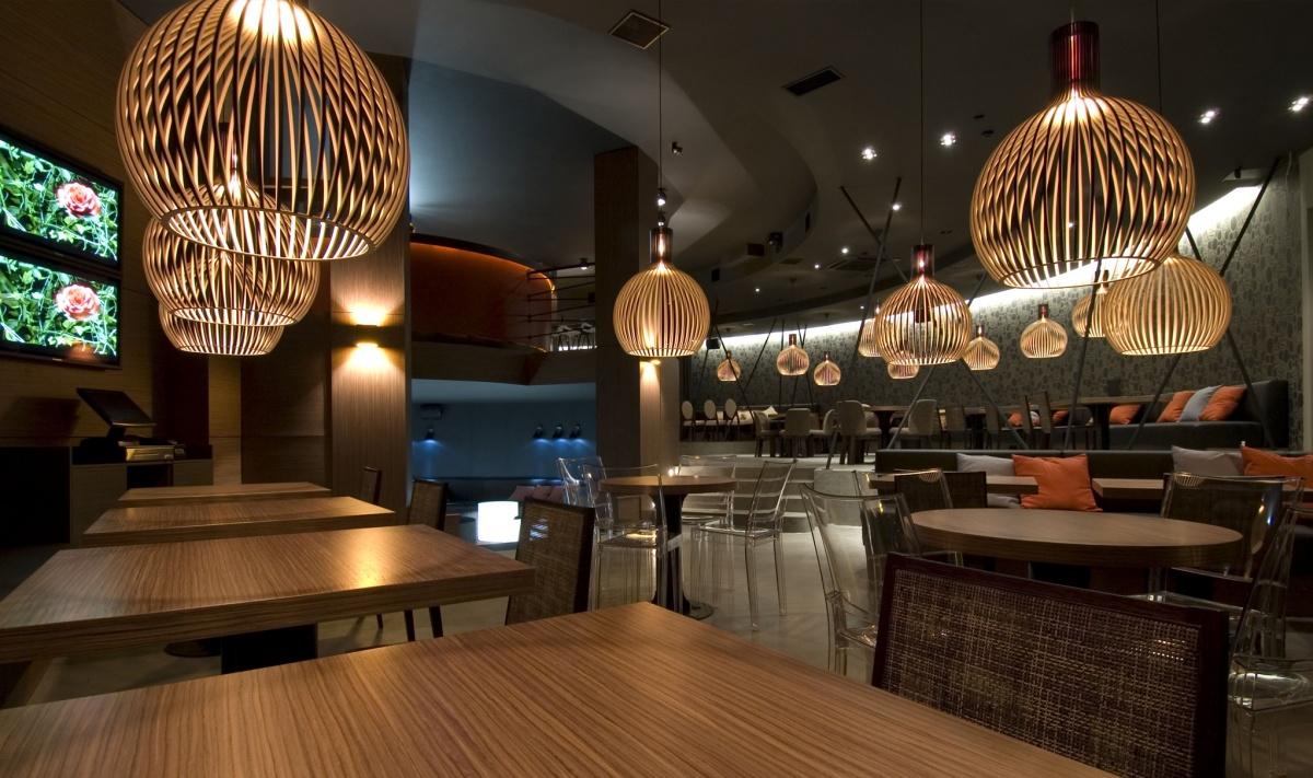 Octo 4240 taklampa i restaurang