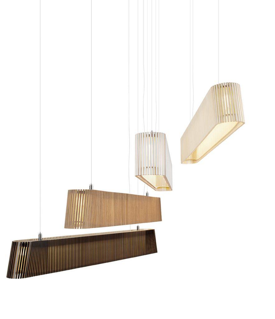 Taklampa Owalo 7000, Secto Design