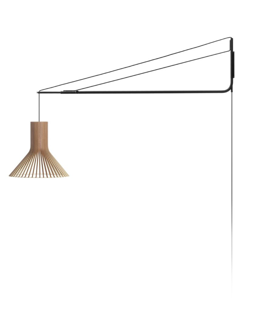 Lamphållare Varsi 1000, svart