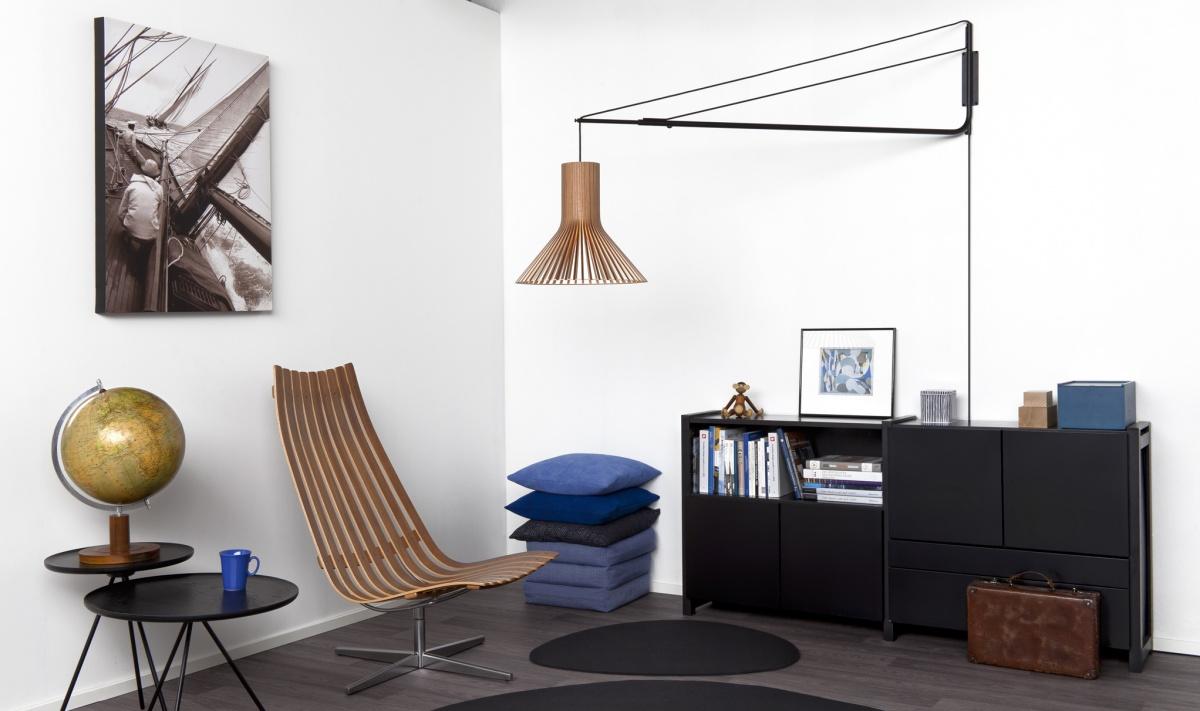 Varsi lampfäste vägg, Secto Design
