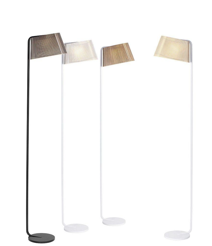 Owalo 7010 golvlampor från Secto Design