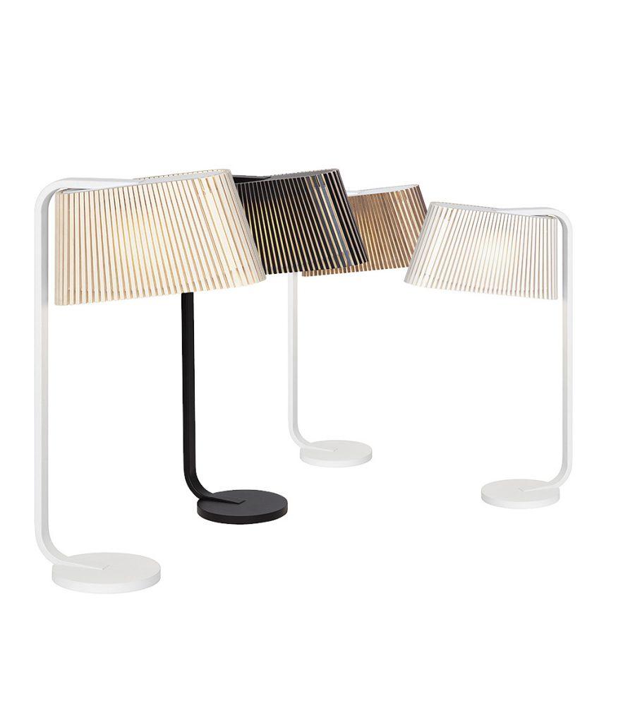 Ovalo 7020 Bordslampa från Secto Design