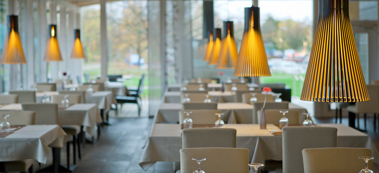 Secto Design armaturer i Restaurang miljö